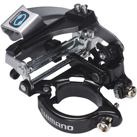 Shimano Tourney FD-TX800-TS3 Voorderailleur 7/8-speed Top Swing, black/silver